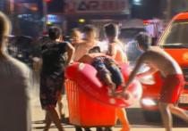 Взорвавшийся порошок в тайваньском аквапарке покалечил 516 человек