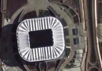 Спутники сфотографировали стадион «Ростов-Арена» из космоса