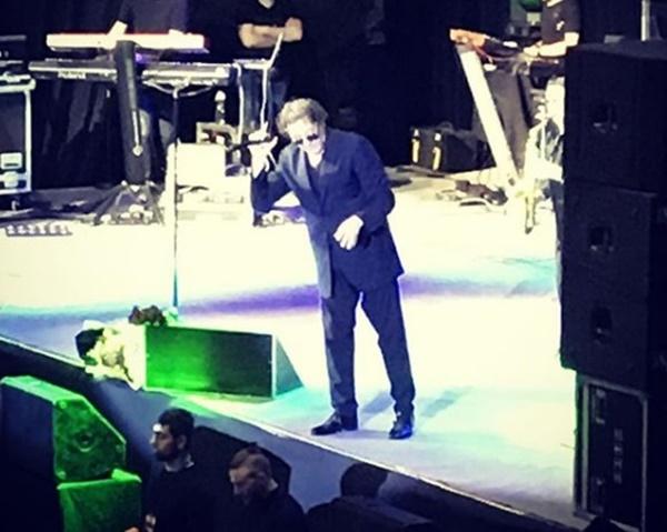 Григорий Лепс прочел заТимати рэп вовремя концерта вРостове