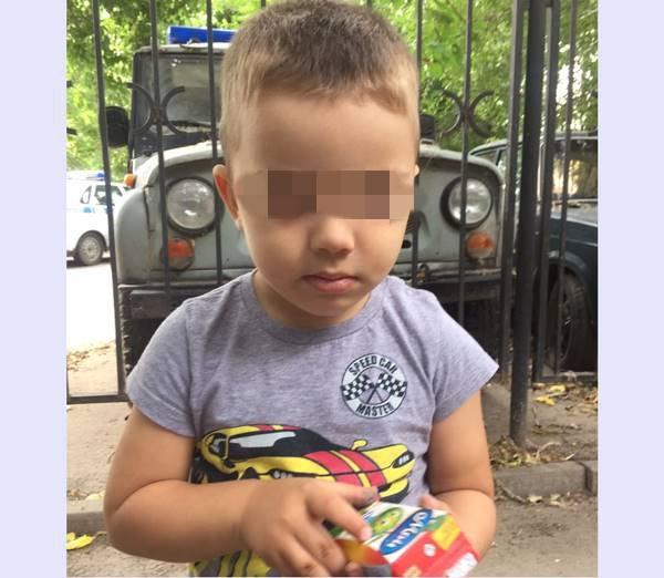 Милиция  Ростова возвратила  всемью найденного 4-летнего ребенка