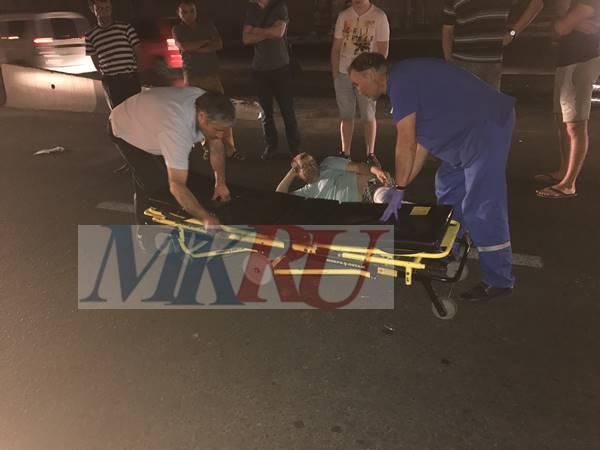 Перебегавший дорогу «накрасный» мужчина попал под колеса иномарки вРостове