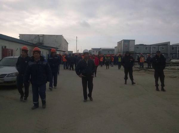 Строители «Ростов-Арена» вышли назабастовку из-за многомесячных долгов по заработной плате