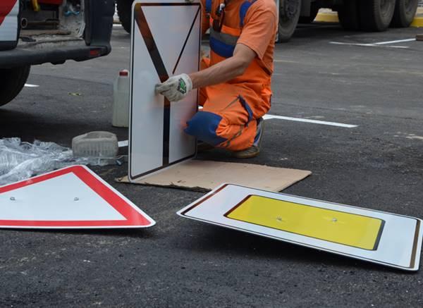 Новые дорожные знаки обойдутся Ростову в20 млн руб.