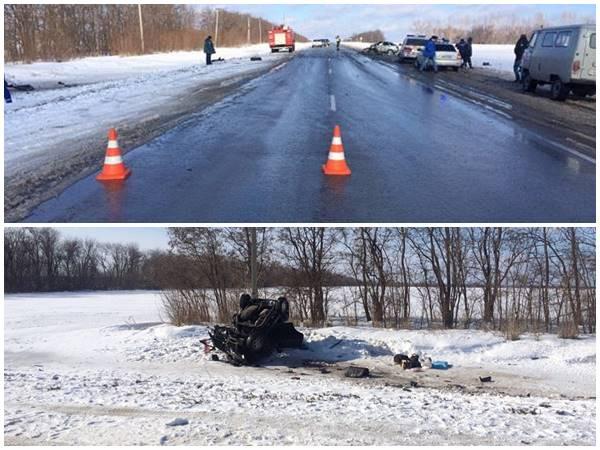 Один человек умер ичетверо пострадали вДТП вРостовской области