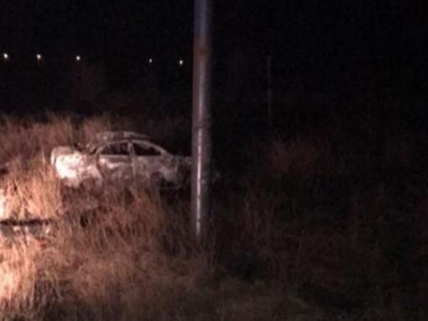 ВРостовской области умер шофёр загоревшейся после ДТП машины