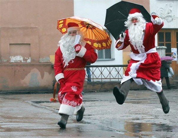 Последние декабрьские выходные вВоронеже будут теплыми идождливыми
